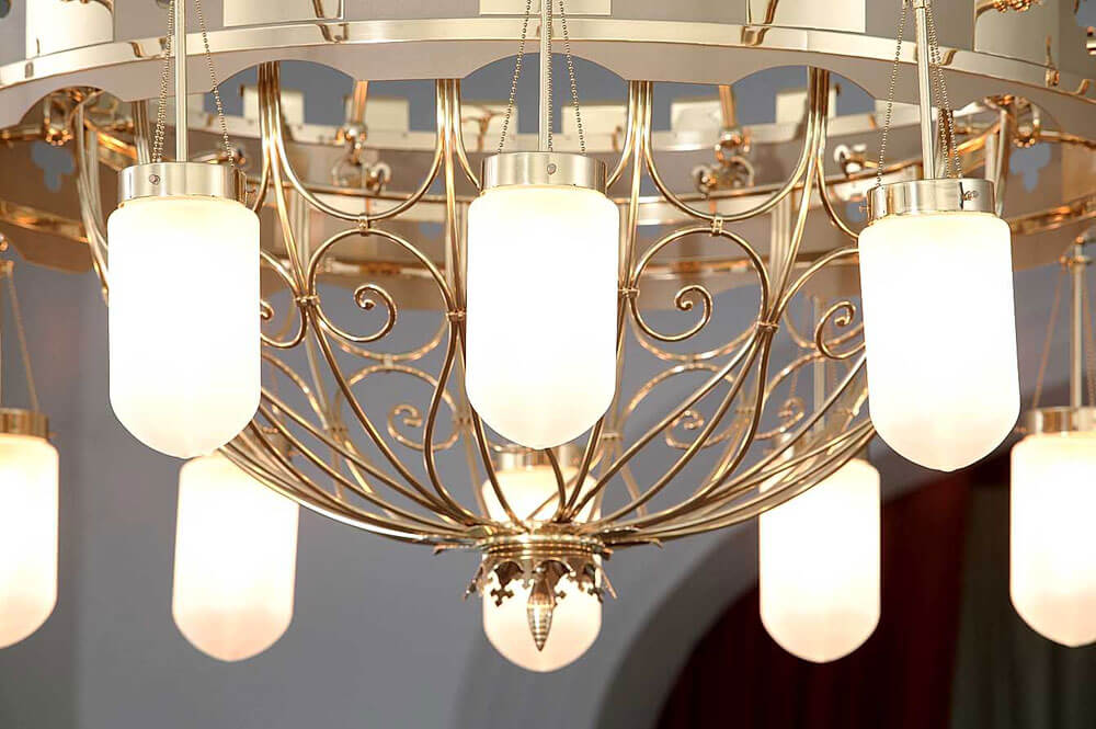 Architektur ins rechte Licht setzen mit Leuchten der Leuchten Manufactur Wurzen