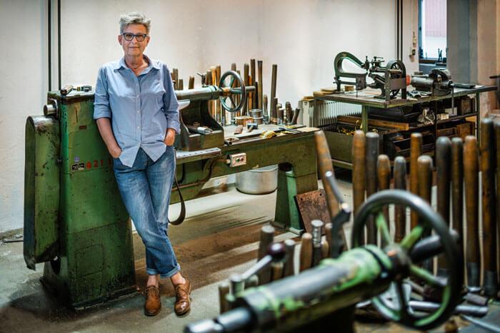 Gabriele Pötzsch Geschäftsführerin der LMW-Leuchten Manufaktur Wurzen GmbH